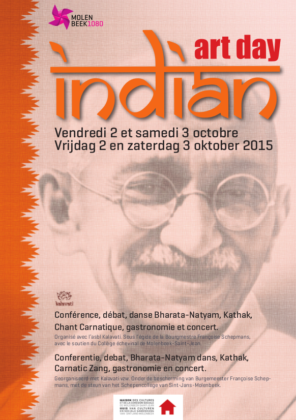 Flyer (recto) Indian Art Day 2015